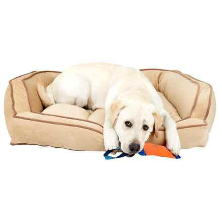 Arlee Luxor Sofa Dog Bed in Star Fish - Closeouts