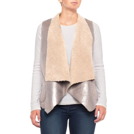 Image of Arleen Shearling Vest (For Women)