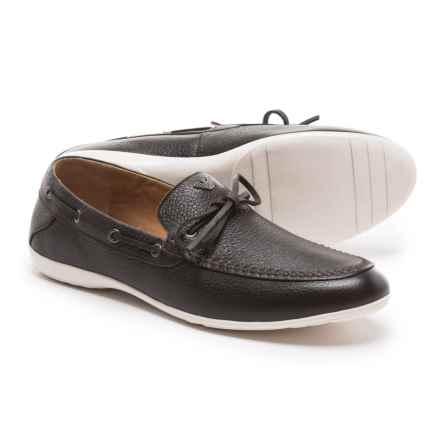 Armani AN535 Loafers - Leather (For Men) in Brown - Closeouts