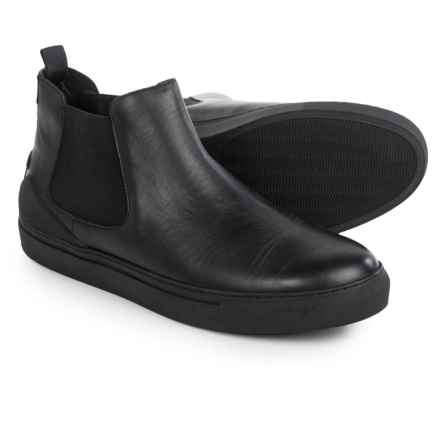 Armani Chelsea Boots - Leather (For Men) in Black - Closeouts