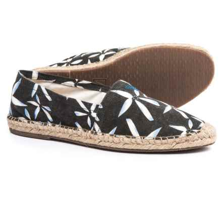 Woven Rope Espadrilles (For Men) in Blue - Closeouts
