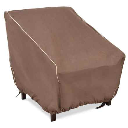 ARMOR ALL Outdoor Chair Cover in Brown - Closeouts