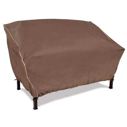 ARMOR ALL Outdoor Loveseat Cover in Brown - Closeouts