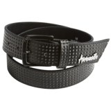 Armourdillo Life Riddle Belt - Leather (For Men)