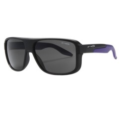 Arnette Glory Daze Sunglasses in Matte Black/Grey