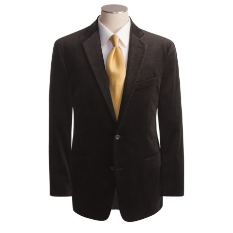 Arnold Brant Cotton Sport Coat (For Men) in Black