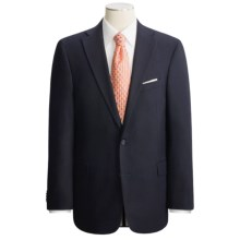 Arnold Brant Wool Gabardine Blazer - Fabric by Loro Piana (For Men) in Navy - Closeouts
