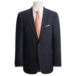 Arnold Brant Wool Gabardine Blazer - Fabric by Loro Piana (For Men) in Navy