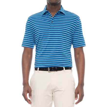 Arnold Palmer Cori Golf Polo Shirt - UPF 20+, Short Sleeve (For Men) in Blue - Closeouts