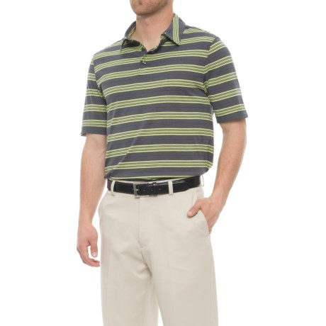 Arnold Palmer Quail Hollow Polo Shirt - UPF 20+, Short Sleeve (For Men) in Lime