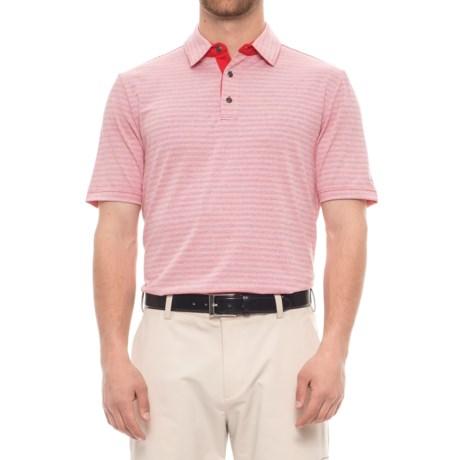 Arnold Palmer Ravines Golf Polo Shirt - UPF 20+, Short Sleeve (For Men) in Red
