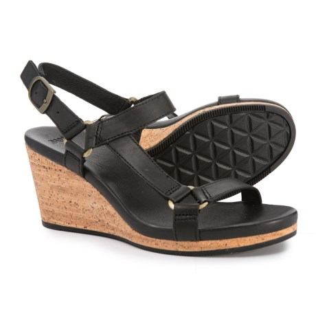 Image of Arrabelle Universal Wedge Sandals - Leather (For Women)
