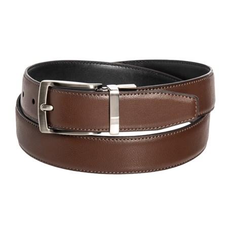 Arrow 35mm Reversible Leather Belt (For Men) in Brown/Black