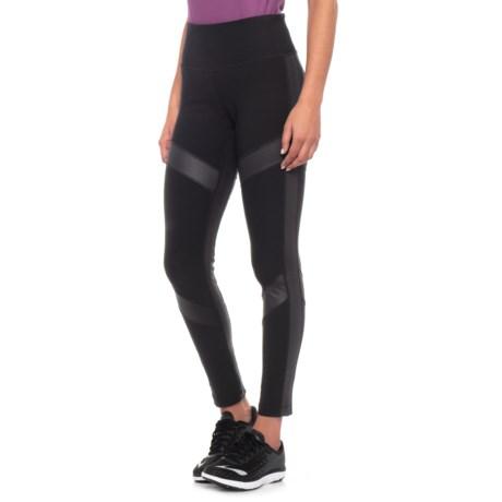 Image of Arrow Color-Block Leggings (For Women)