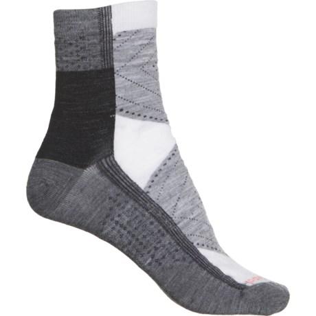 Arrow Dreamer Socks - Merino Wool, Quarter Crew (For Women) - MEDIUM GRAY (L ) -  SmartWool