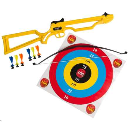 Arrow Precision Badger Toy Crossbow Set in Yellow - Closeouts