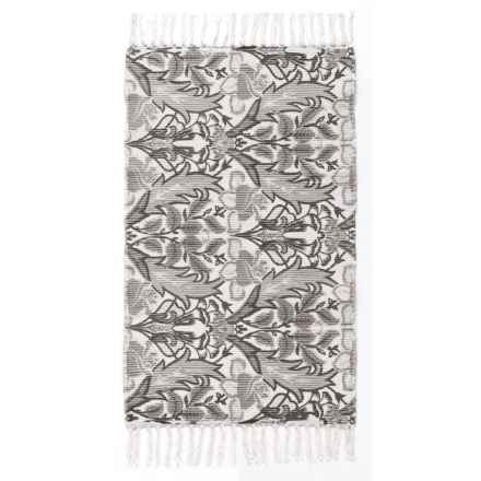 """Art Market Chateau Accent Rug - 27x45"""", Fringe Ends in Liza - Closeouts"""