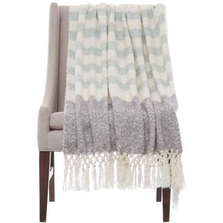 """Artisan de Luxe McCoy Throw Blanket -50x60"""" in Tradewinds"""
