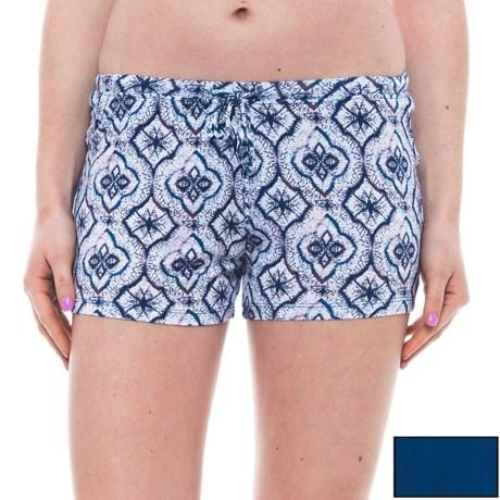 Artisan NY Diamond Tie-Dye Shorts - 2-Pack (For Women) in Tonal/Navy