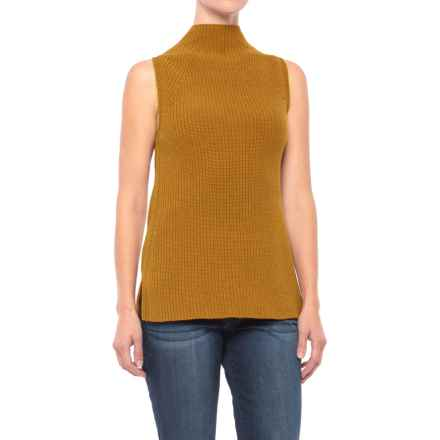 Artisan NY Funnel Shaker Vest (For Women) in Mustard - Closeouts