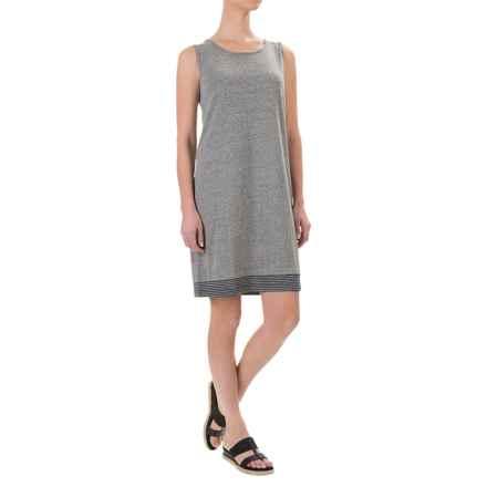 Artisan NY Marled Knit Tank Dress - Sleeveless (For Women) in Heather Grey - Overstock