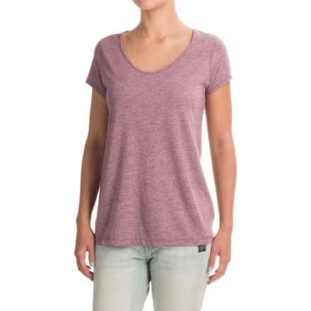 Artisan NY Moulinex T-Shirt - Short Sleeve (For Women) in Sangria - Closeouts