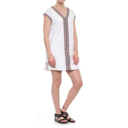 Artisan NY Neon Embroidered Wedge Dress - Sleeveless (For Women) in White - Closeouts