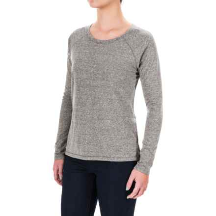 Artisan NY Nube Jersey-Knit Hi-Lo T-Shirt - Long Sleeve (For Women) in Light Grey - Closeouts