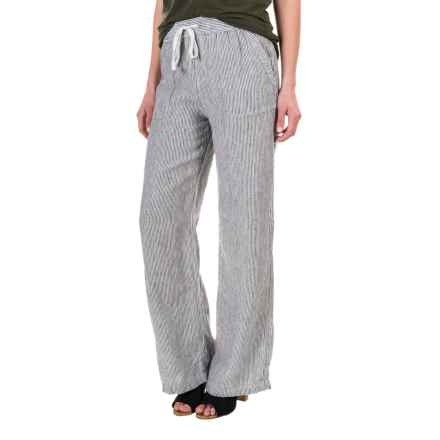 Artisan NY Pinstripe Drawstring Pants (For Women) in Blue/White Stripe - Overstock
