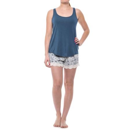 Artisan NY Racerback Pajamas - Sleeveless (For Women) in Navy