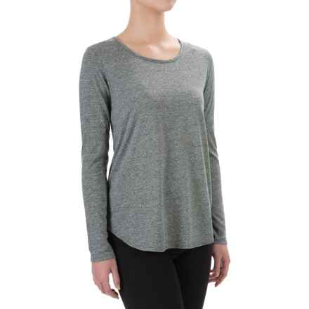 Artisan NY Raglan Moulinex Jersey-Knit Shirt - Long Sleeve (For Women) in Charcoal - Closeouts