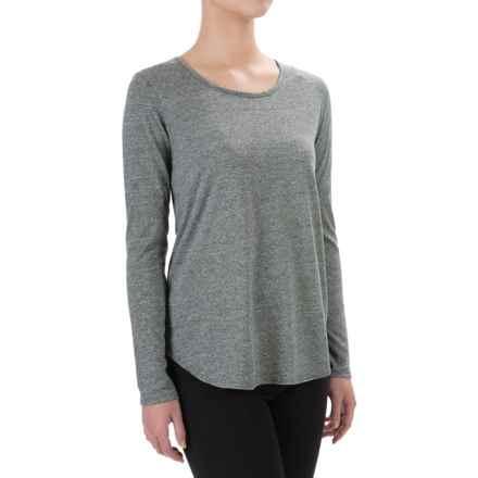 Artisan NY Raglan Moulinex Jersey-Knit Shirt - Long Sleeve (For Women) in Jet Black - Closeouts