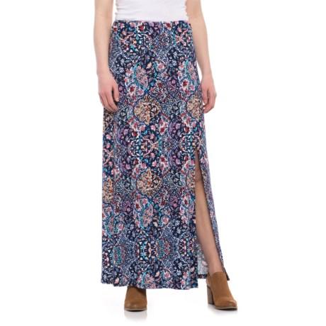 Artisan NY Side-Slit Maxi Skirt (For Women)