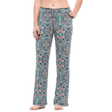 Artisan NY Stamped Damask Drawstring Lounge Pants (For Women)