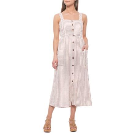 fa19f381978 Artisan NY Summer Stripe Strappy Maxi Dress - Sleeveless (For Women) in  Summer Stripe