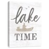 "Artissimo Designs 11x14"" Canvas ""Lake Time"" Print"