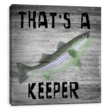 "Artissimo Designs 12x12"" Printed Canvas ""Keeper"" Print"