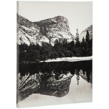 """Artissimo Designs 22x28"""" Canvas """"Yosemite Mirror Lake"""" Print in See Photo"""