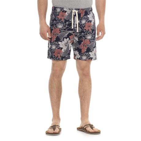 Artistry In Motion Printed Walking Shorts (For Men)