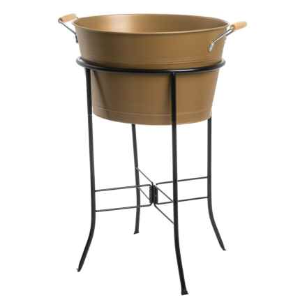Artland Oasis Party Tub and Stand in Copper - Overstock