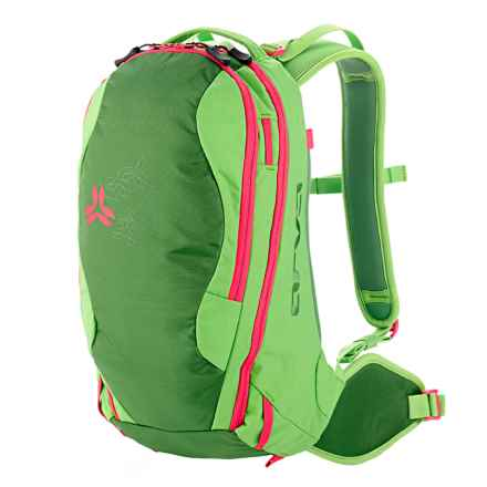 Arva Patroller 18L Ski Backpack (For Women) in Green - Closeouts