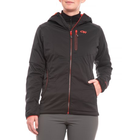 Image of Ascendant Polartec(R) Alpha(R) Hooded Jacket - Insulated (For Women)
