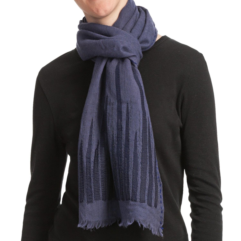 asian eye backgammon scarf light wool for save 45
