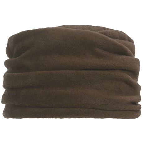 Asian Eye Cedar Hat - Fleece (For Women) in Brown