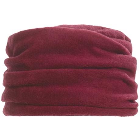 Asian Eye Cedar Hat - Fleece (For Women) in Red