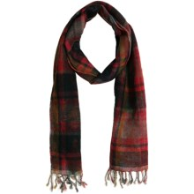 Asian Eye Dundee Scarf - Wool (For Women) in Red - Closeouts