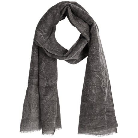 Asian Eye Harley Scarf - Stonewashed Denim (For Women) in Rose