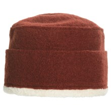 Asian Eye Juno Hat - Wool (For Women) in Rust - Closeouts