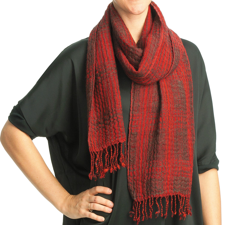 asian eye kerouac scarf wool reversible for