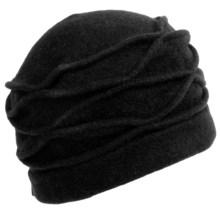 Asian Eye Lori Hat - Boiled Wool (For Women) in Black - Closeouts